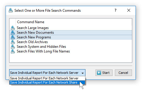 Batch File Search Mode
